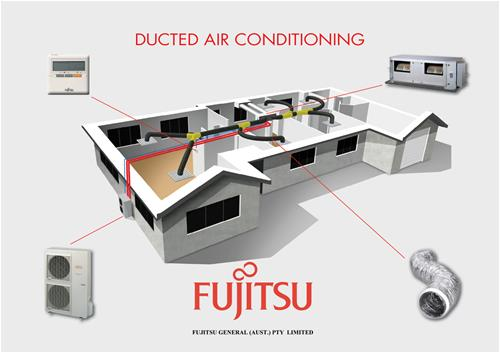 Fujitsu Ducted Sleep Series Independent Refrigeration